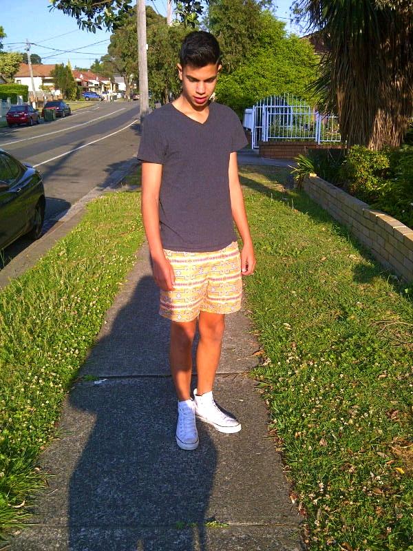 converse hi tops with shorts